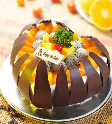 一品轩蛋糕/巴厘岛之恋(8寸)