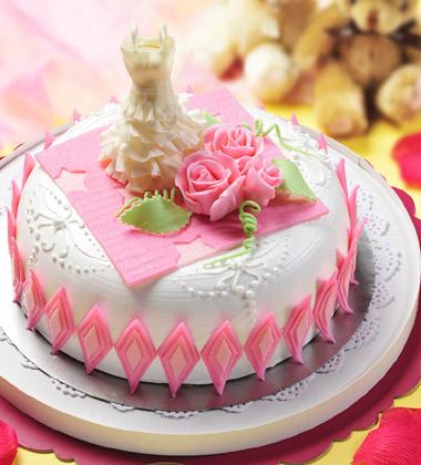 一品�蛋糕/婚�c蛋糕(8寸)