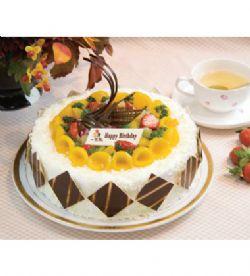 一品轩蛋糕/富贵花开(8寸)