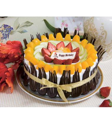 一品轩蛋糕/花开花蒂(8寸)