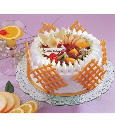 一品轩蛋糕/水果百汇(8寸)