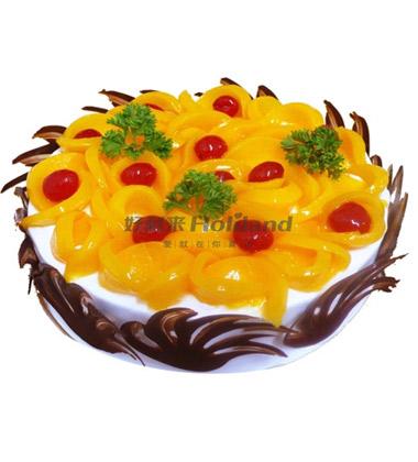 好利来蛋糕/黄桃盛宴(8寸)