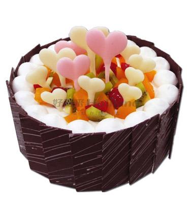 好利来蛋糕/爱心世界(8寸)