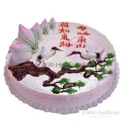 好利来蛋糕/福寿无疆(10寸)