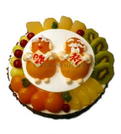 好利来蛋糕/福寿康宁(10寸+6寸)