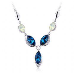 施华洛世奇元素 水晶 时尚 复古 欧美项链 兰亭序