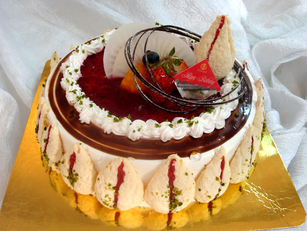 嘉华蛋糕 荷塘月色 高清图片