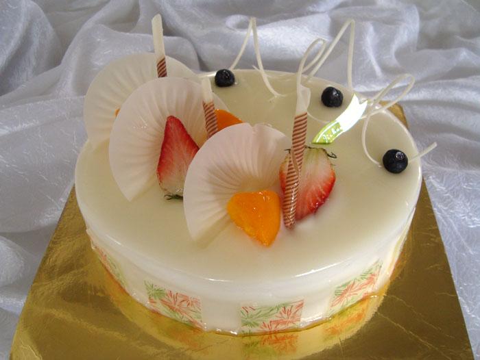 嘉华蛋糕 水晶之恋 高清图片