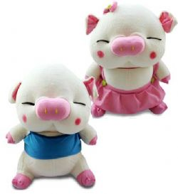 情侣猪/毛绒玩具