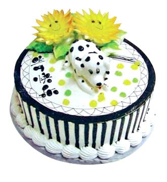 生肖蛋糕/狗狗生日快乐