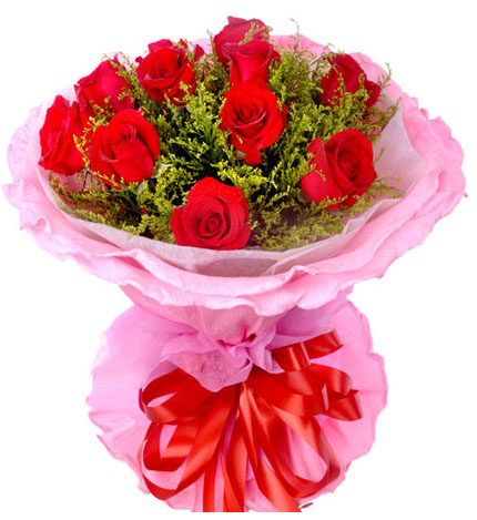 朵朵鲜花11朵花束