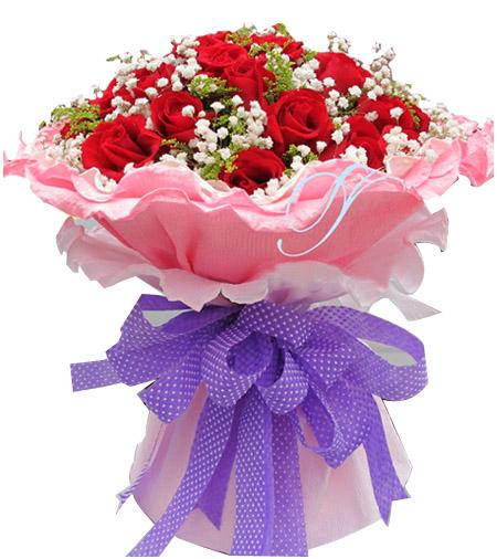 19枝紅玫瑰/親親愛