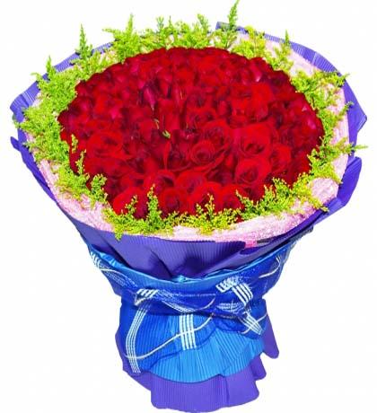 66枝红玫瑰/这一生有你就足够