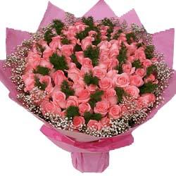 99枝粉玫瑰/爱的语言