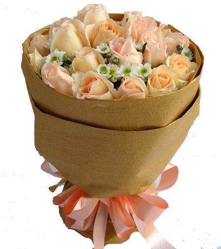 19枝香擯玫瑰/愛如美酒
