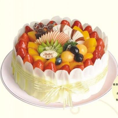 雪贝尔蛋糕/七彩果园