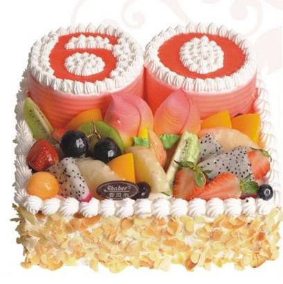 雪贝尔蛋糕/寿比南山