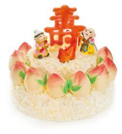 好利来蛋糕/福寿双全(6+10寸)
