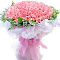 爱到永久/99朵粉玫瑰