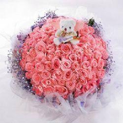 天使之恋/99朵粉玫瑰