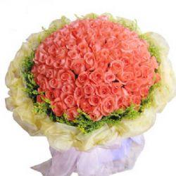 爱恋久久/99朵粉玫瑰