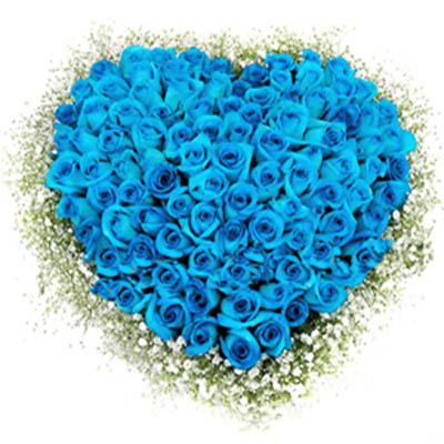 心动/99朵蓝玫瑰