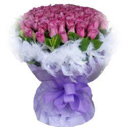 最美/99朵紫玫瑰