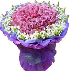 心有灵犀/99朵紫玫瑰