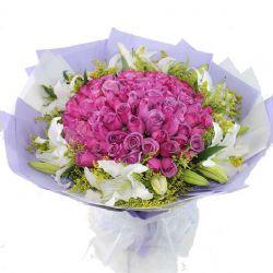 心意/99朵紫玫瑰