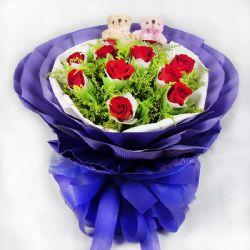 甜蜜/11朵红玫瑰