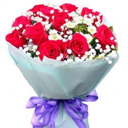 当爱在靠近/11朵红玫瑰