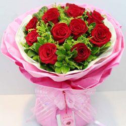 喜欢你/11朵红玫瑰