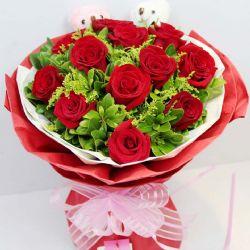 今生幸福/11朵红玫瑰