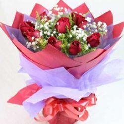 你的微笑/9朵�t玫瑰