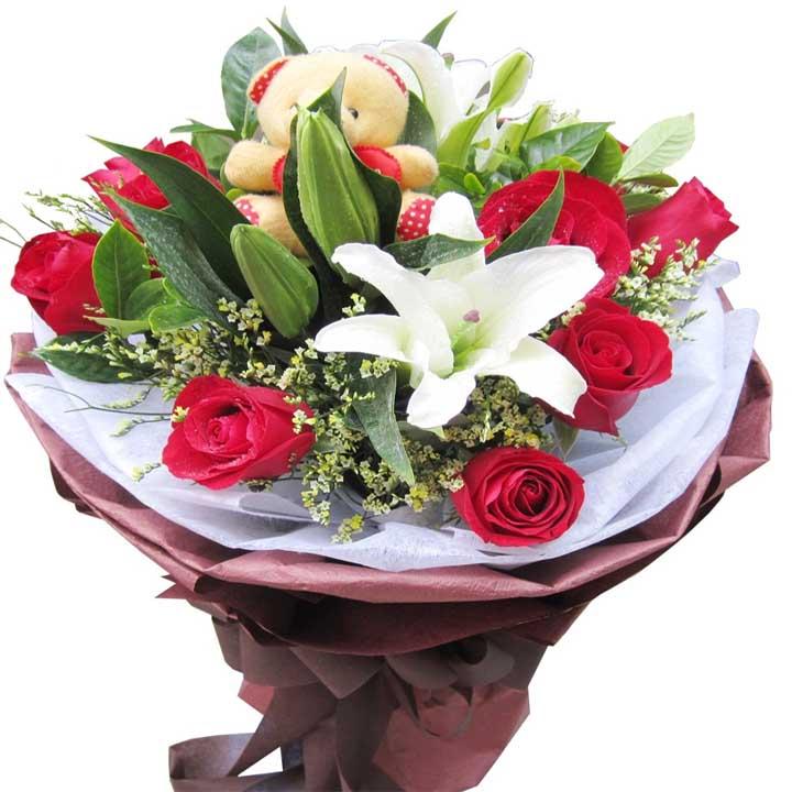 白头偕老/9朵红玫瑰
