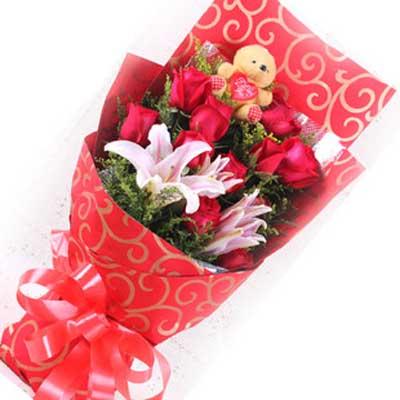 长相守/9朵红玫瑰