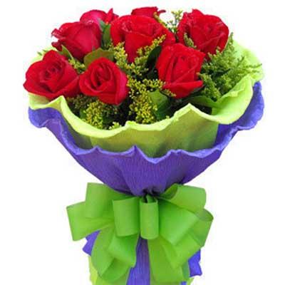 愛情音符/9朵紅玫瑰