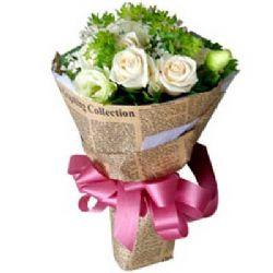 无瑕的爱情/9朵白玫瑰