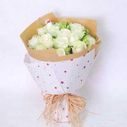 永恒的色彩/11朵白玫瑰