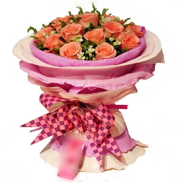 远方的你/11朵粉玫瑰