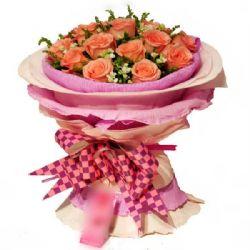 �h方的你/11朵粉玫瑰
