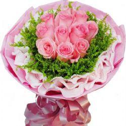 牵你的手/11朵粉玫瑰