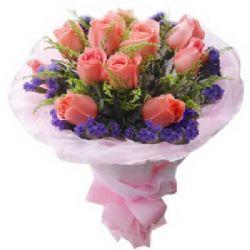 我的唯一/11朵粉玫瑰