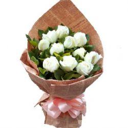 一心一意/11朵白玫瑰