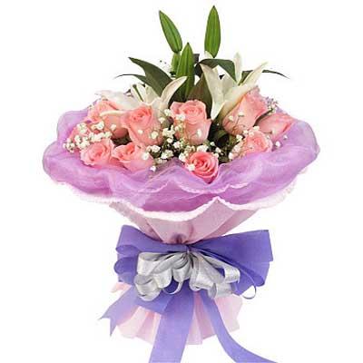 幸福女主角/11朵粉玫瑰