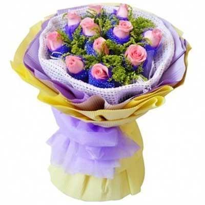 心中的公主/11朵粉玫瑰