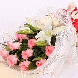 最��/11朵粉玫瑰