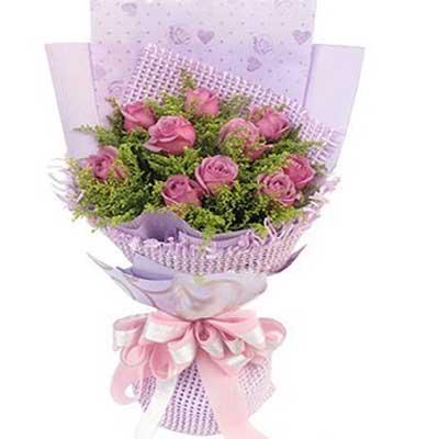 心之守護/11朵紫玫瑰