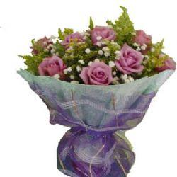 今天的爱/11朵紫玫瑰