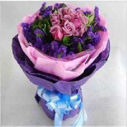 与你相遇/11朵紫玫瑰